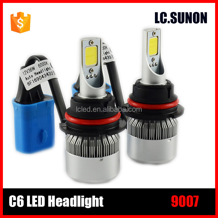 new product LED headlight kit car led headlight bulbs 880 881 H1 H3 H4 H7 H8 H9 H11 H13 36W 3800lm