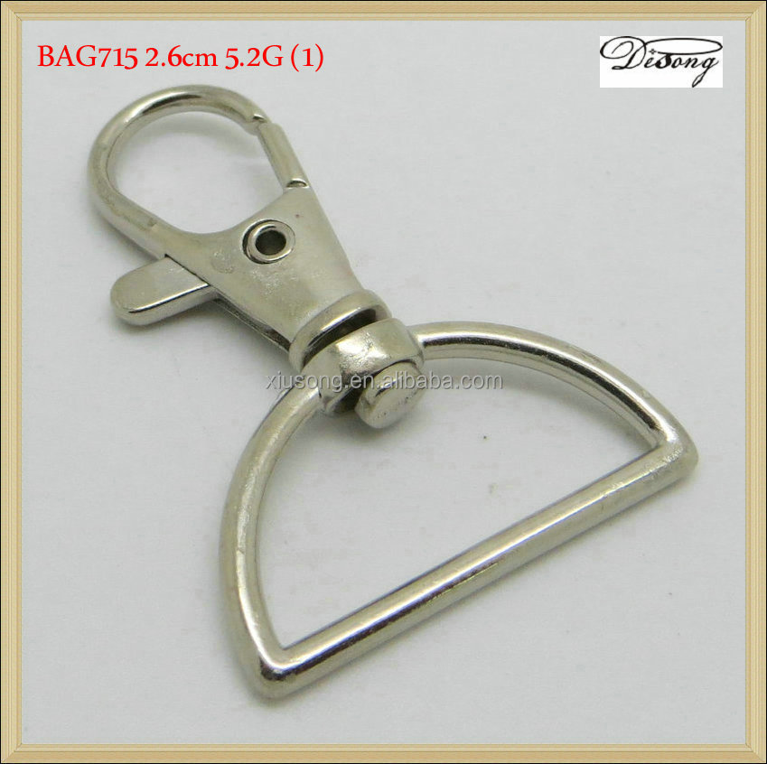 BAG715 D ring cheap key chain snap hook