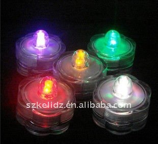 2*CR2032 batteries powered mini floralytes submersible led light