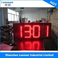 small count up timer 4 inch 0.56 inch blue color three-digit 7 segment led display 24 segments LCD PROJECTOR