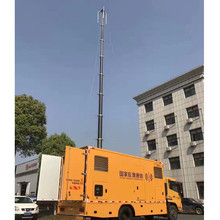 12m mobile antenna telescopic mast for TV antenna mounting