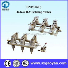 GN19-12(C)high voltage Indoor Three Pole Disconnect Switch/Isolating Switch
