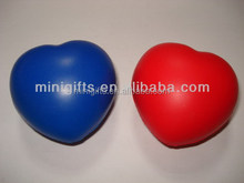 Best sell Cheap PU Promotional Heart Anti Stress Ball Toys/free sample heart stress ball