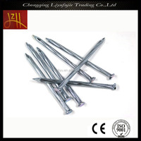 hot sale silver concrete steel nail complete in specification
