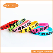Bangles,Bracelets Jewelry Type and Silicone Jewelry Main Material Wenzhou Factory silicone snap charm bangle bracelet