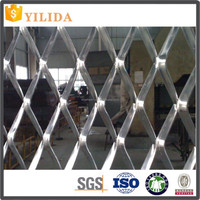 new design metal expanded aluminium mesh price