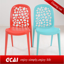 The latest design easy to clean lightful good stackable pp dining room chair
