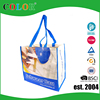 100% recycled PET bag, food grade RPET shopping bags