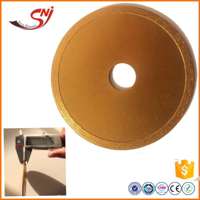 super thin wet cutting diamond lapidary saw blade for tile and porcelain