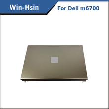 "For Dell Precision M6700 17.3"" LCD Back Cover Lid W/ Hinges CHA01 NCNTX"