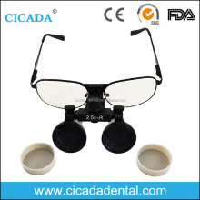 CICADA Magnifying glasses 2.5x 3.5x best price Dental Loupes with LED light