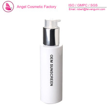 OEM best skin whitening sunscreen for oily skin