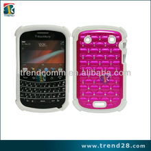 PC case for blackberry 9900 with diamond dots in the back