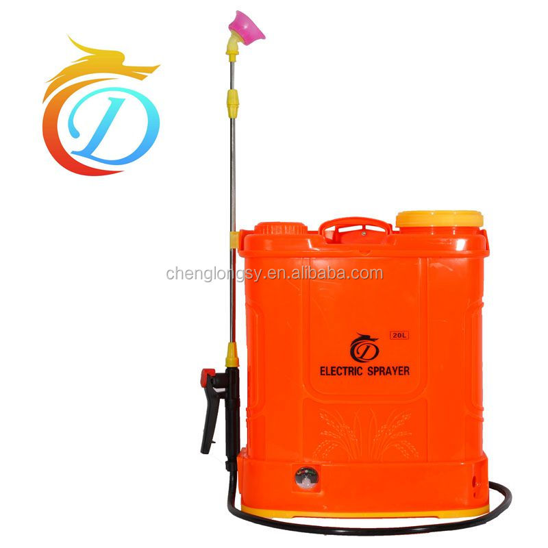 Rechargeable electric backpack knapsack sprayer for India market with best quality