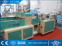 High speed full automatic t-shirt bag making machines