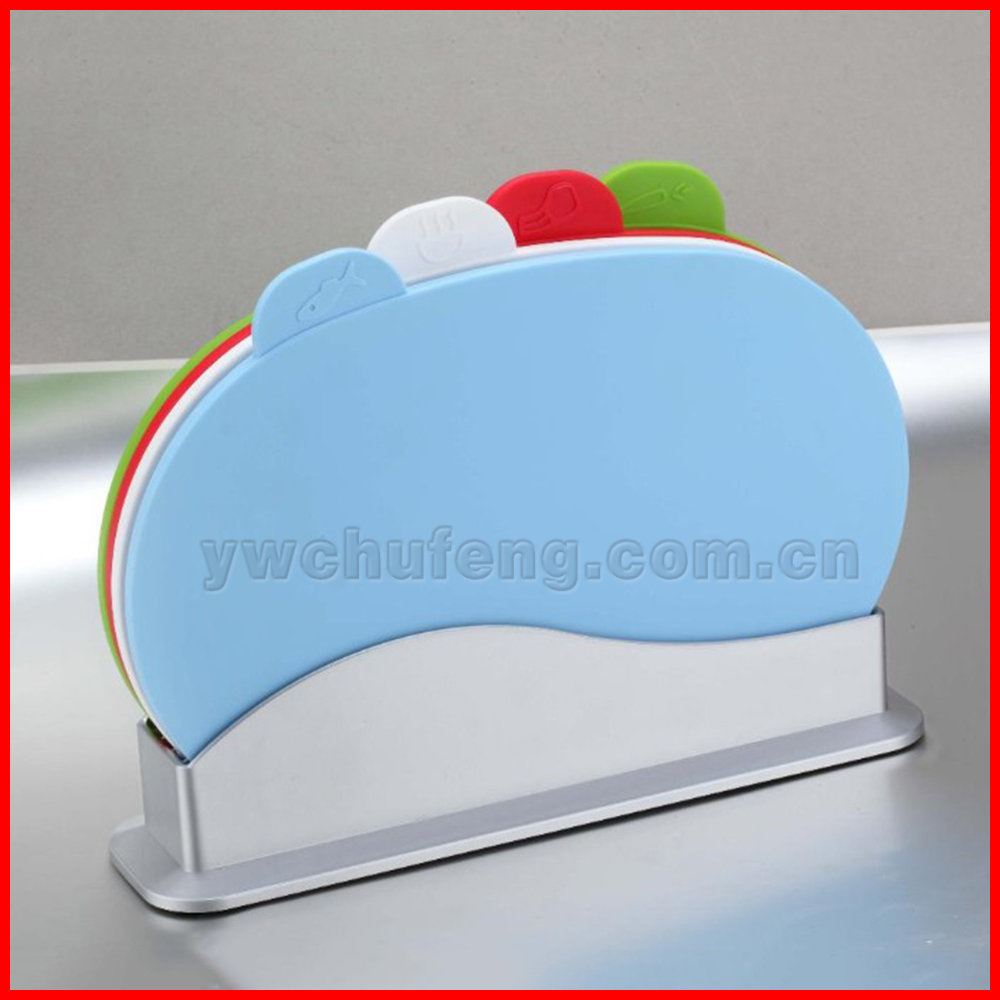 CUISINE ELEGANCE OVAL CHOPPING CUTTING SLICING FISH VEGETABLE MEAT BOARD SET