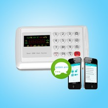 GSM Wireless Home Security Alarm System + Auto Dialing GSM alarm guard against theft and alarm system suitable for home