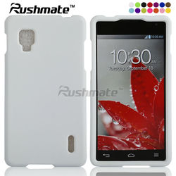 For LG Optimus G LS970 White Hard Mobile Crystal Cover