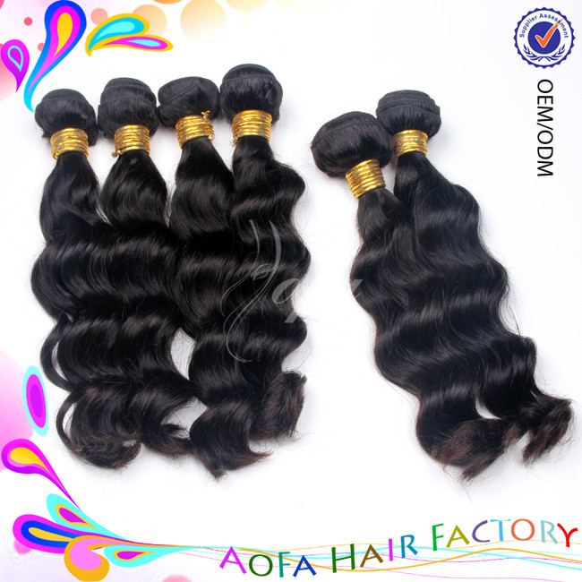 Wholesale unprocessed remy brazilian italian weave human hair extension