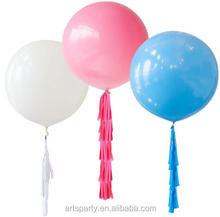 36 inch giant large tassels Latex balloon wedding party birthday decoration