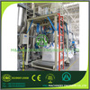 big bag filler with under weighing for lime powder wuxi m&j