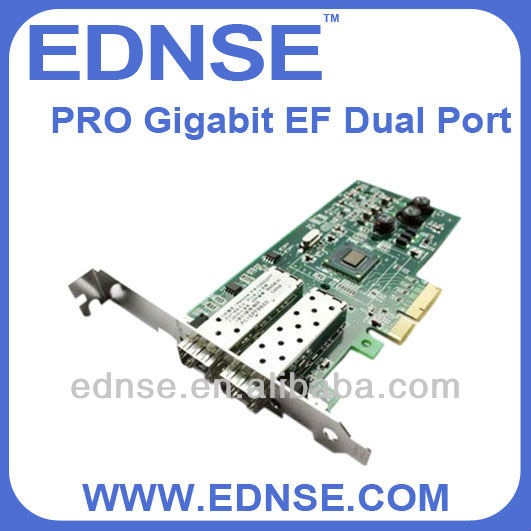 EDNSE server adapter card PRO Gigabit EF Dual Port Network Interface Card SFP Slots*2