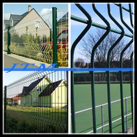 (17 years factory)Welded wire mesh fence netting/chicken wire fencing panels/iron fence panel