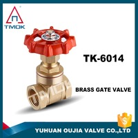 pn20 brass non rising stem gate valve price water-proof delicate brass gate valve brass long stem gate valve