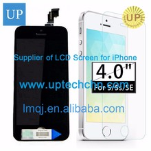 Hot Sale Free shipping Top quality Black 4.7 inches touch screen display lcd digitizer assembly for iphone 6 spare parts for cel