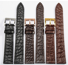 crocodile skin leather watch strap watch wristband watch wrist strap for men for women