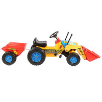New children pedal tractor kids cars to drive