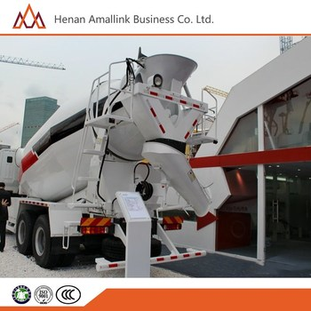 chian Brand! 6x4 350hp 12 cbm new concrete transit mixer truck for sale