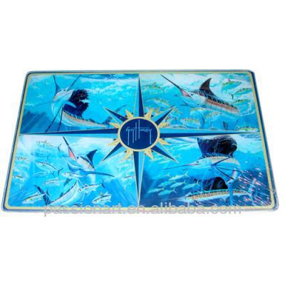 Kitchen Decorative Art Glass Cutting Boards Unbreakable