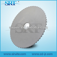 Tungsten carbide saw blade for cutting paper