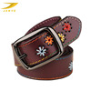 New Style Fashion Leather Embroidery Belt