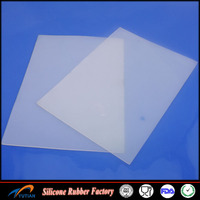 Hot sale Custom with high quality low price china supplier silicon rubber sheet