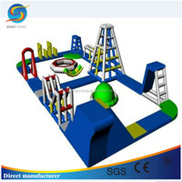 New Design Inflatable Water Park Project