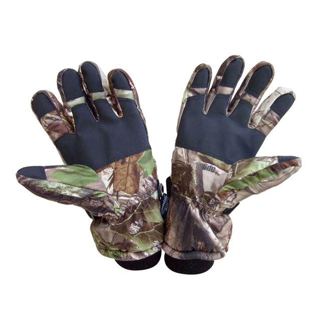 Winter Waterproof Camouflage Tactical Hunt Gloves