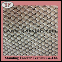China factory sales polyester heavy duty mesh fabric for office chair
