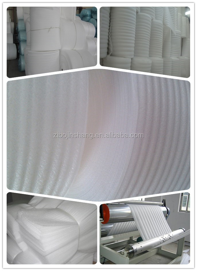 2mm thick EPE foam roll for furniture packaging