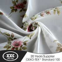nice design 100% polyester voile wholesale sheer curtain