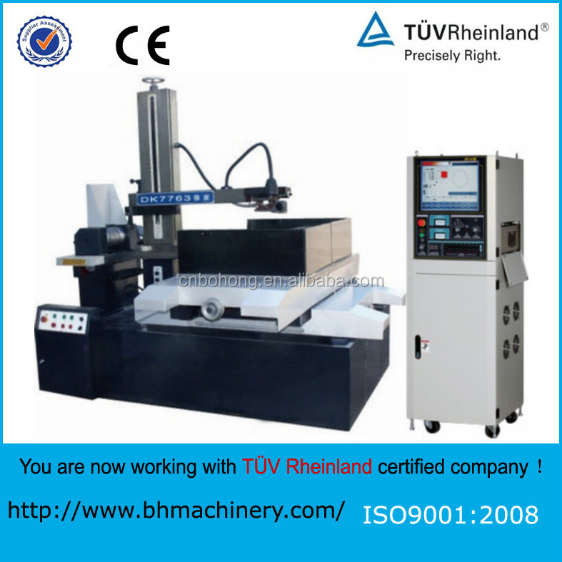 China CE&TUV & ISO9000 certificated edm machine low price of ningbo bohong company