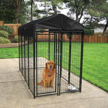 China supply Large outdoor welded wire mesh dog cage pet enclosure