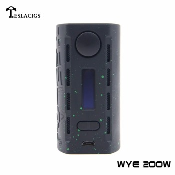 Tesla new released WYE style light mod WYE 200w chargeable mod give you unprecedented vape experience