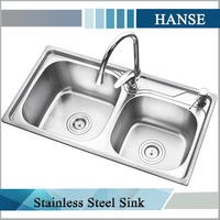 K-7540 ss sink/ different types kitchen sink/ teka kitchen sinks stainless