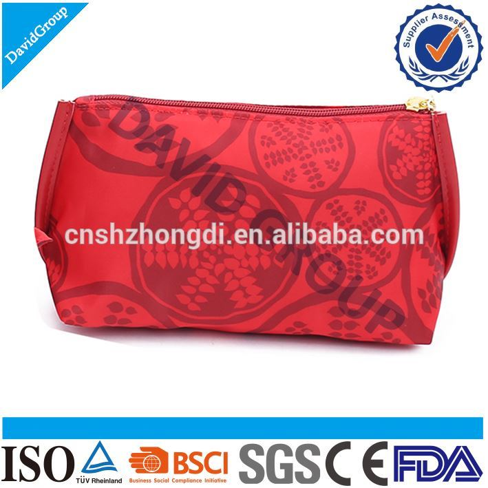 Certified Top Supplier Custom Mini fashion pvc cosmetic bag Trendy Women Simple Makeup Bag
