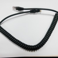 Cat5e Cat6 Patch Cord Spiral Cable with RJ45 Connector