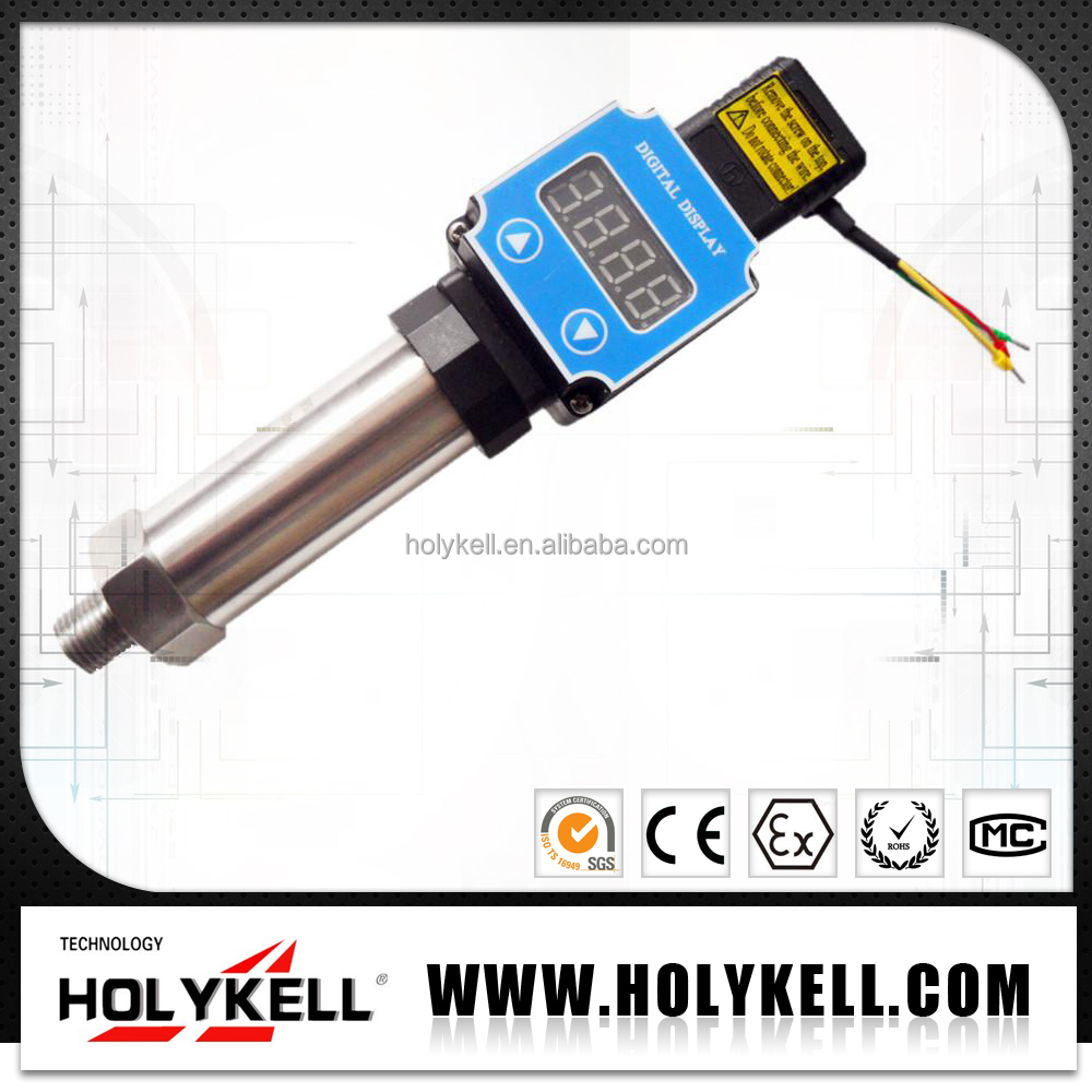 HPT200-G 4-20ma loop powered pressure transmitter with led display