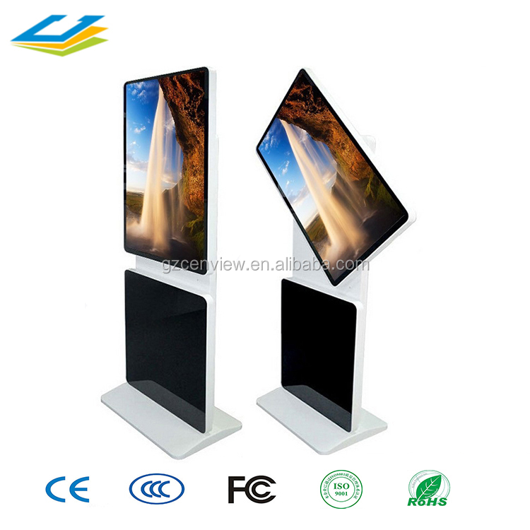 43 inch restaurant tablet touch screen kiosk stand table stand kiosk for place order