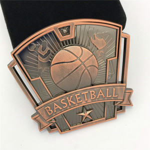 Custom metal basketball sports medals China manufacturer make your own medal
